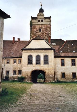 Bild: Im Schloss zu Allstedt.