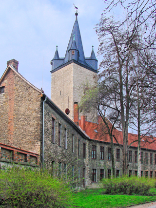 Bild: Der Schmale Heinrich von Aschersleben.