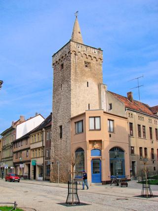 Bild: Der Liebenwahnsche Turm zu Aschersleben.