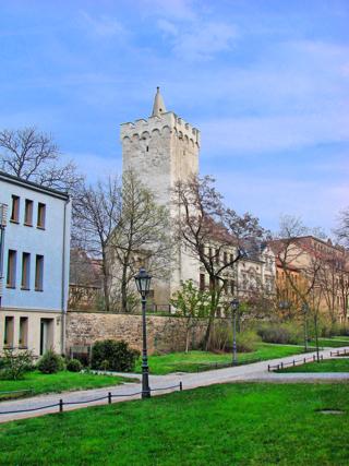 Bild: Hoffmanns Turm an der Hinterbreite zu Aschersleben.