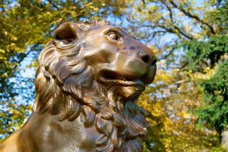Bild: Das Löwendenkmal wurde von Johann Gottfried Schadow entworfen.