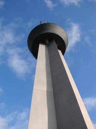 Bild: Impressionen vom Obelisken Flamme der Freundschaft in Hettstedt.