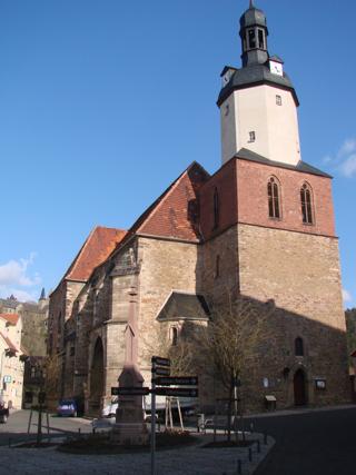 Bild: Die Stadtkirche St. Georg zu Mansfeld.