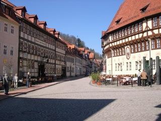 Bilder: Impressionen aus der historischen Fachwerkstadt Stolberg im Harz.