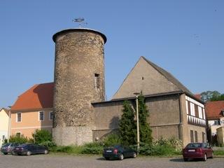 Bild: Die ehemalige Wasserburg von Hettstedt.