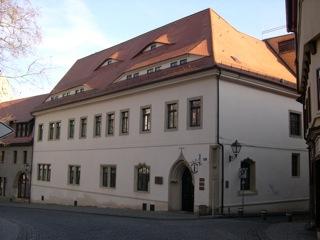 Bild: Das Stadtschloss der Grafen von Mansfeld-Vorderort in der Lutherstadt Eisleben.