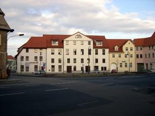 Bild: Auf dem Plan in der Lutherstadt Eisleben.