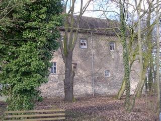 Bild: Ältester Flügel des Schlosses zu Gänsefurth.