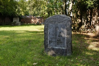 Bild: Der Jüdische Friedhof zu Eisleben.