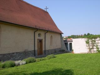 Bild: Die Kapelle St. Gangolf auf dem Kupferberg von Hettstedt.