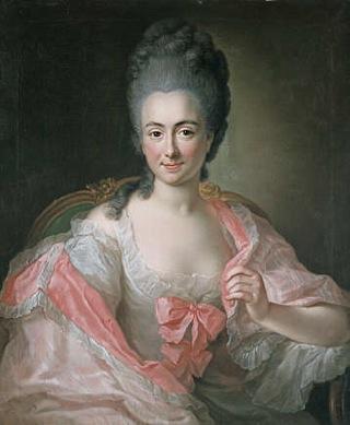 Bild: Maria Antonia von Branconi. Portrait von Anna Rosina de Gasc (1713-1783) von 1770. Dieses Bild ist gemeinfrei, weil seine urheberrechtliche Schutzfrist abgelaufen ist.