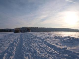 Bild: Blick auf Schloss Mansfeld.