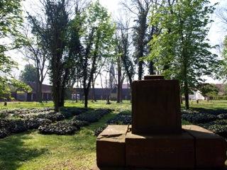 Bild: Auf dem Alten Friedhof oder Campo Santo in der Lutherstadt Eisleben.