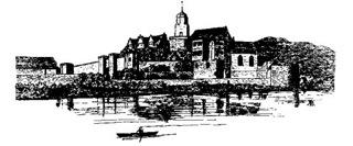 Bild: Schloss Seeburg. Dieses Bild ist gemeinfrei, weil seine urheberrechtliche Schutzfrist abgelaufen ist.