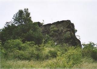 Bild: Blick auf einen der Gegensteine bei Asmusstedt.
