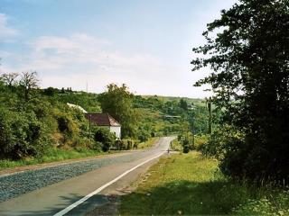 Bild: Die Landschaft der Weinstraße Mansfelder Seen erinnert teilweise an die Weinberge nördlich vom Balaton in Ungarn.