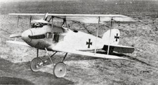 Bild: Die Jagdflugzeuge des Ersten Weltkrieges waren wenig robust. Hier der deutsche Jagdeinsitzer Albatros D.I - so wie er ab September 1916 auch von Oswald Boelcke geflogen wurde. Dieses Bild ist gemeinfrei, weil seine urheberrechtliche Schutzfrist abgelaufen ist.