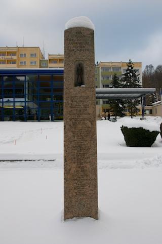 Bild: Das VDI Denkmal in Alexisbad.