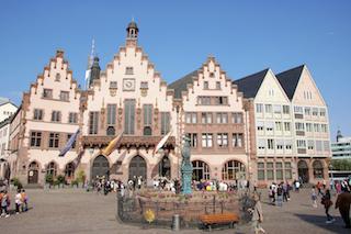 Bild: Der historische Römer zu Frankfurt am Main. © 2010 by Wolfgang Siegemund.