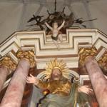 Bild: Impressionen aus der Kirche St. Jakobi auf dem Markt zu Hettstedt.
