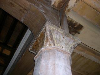 Bild: Impressionen aus dem Innenraum der Kirche zu Unterfarnstädt.