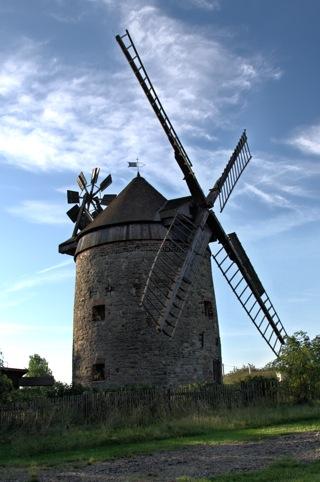 Bild: Die Windmühle von Endorf.