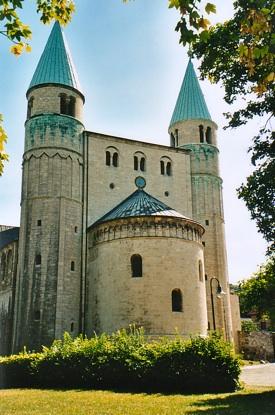Bild: Die Stiftskirche St. Cyriacus zu Gernrode am Harz.