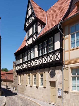 Bild: Das Gleim-Haus in Halberstadt.