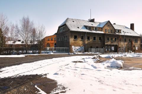 Bild: Blick auf die ehemalige Saigerhütte bei Hettstedt. Klicken Sie auf das Bild um es zu vergrößern.
