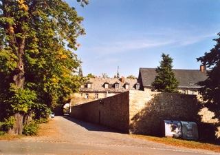 Bild: Das Kloster Huysburg bei Halberstadt.