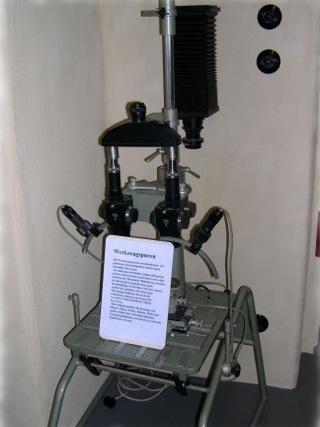 Bild: Mikroskop für kriminaltechnische Untersuchungen.