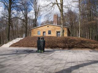 Bild: Das ehemalige Krematorium des Konzentrationslagers Mittelbau-DORA.