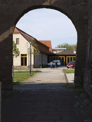 Bild: Das Kloster Helfta bei Eisleben.