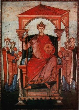Bild: Otto der II. oder Otto der III. Dieses Bild ist gemeinfrei, weil seine urheberrechtliche Schutzfrist abgelaufen ist.