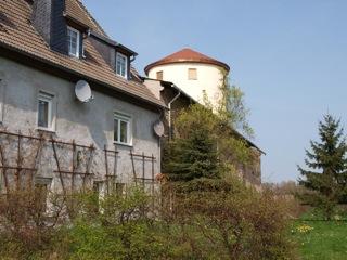 Bild: In der Burg zu Freckleben.