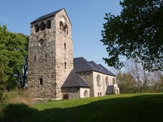 Bild: Die Kirche zu Müllerdorf.