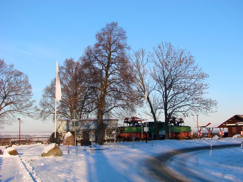 Bild: Am Südufer des Concordiasees - Die ehemalige Aussichtsplattform von Nachterstedt.