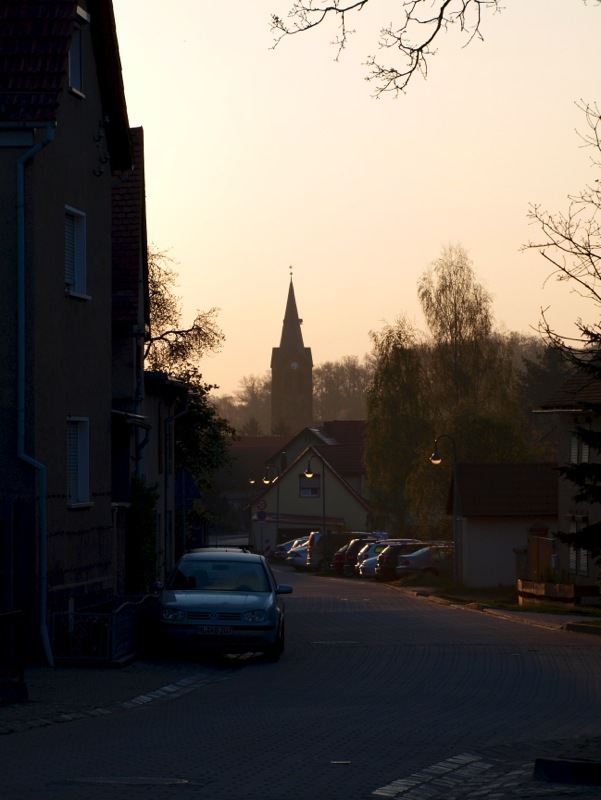 Stangerode - ein Frühlingsmorgen.