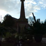 Arnstedt - Am Kriegerdenkmal.