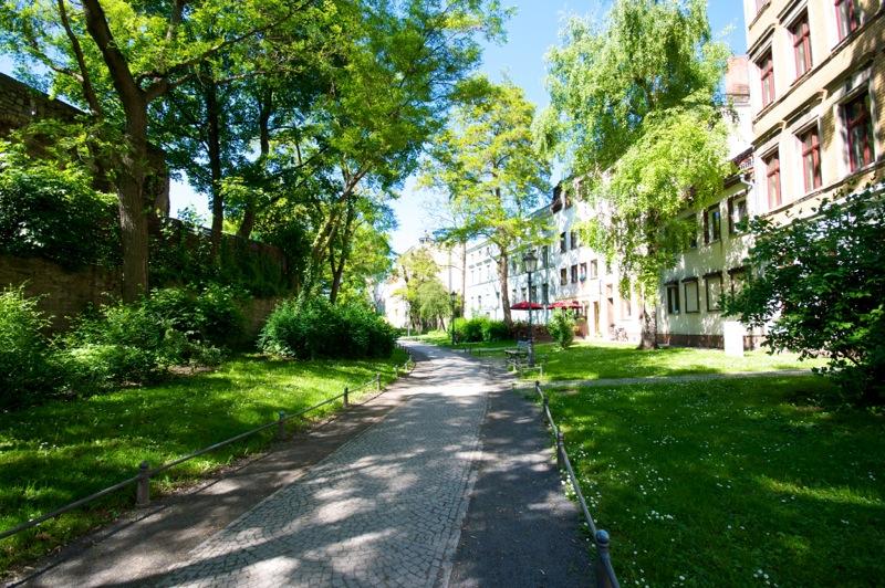 Aschersleben - Auf der Augustapromenade