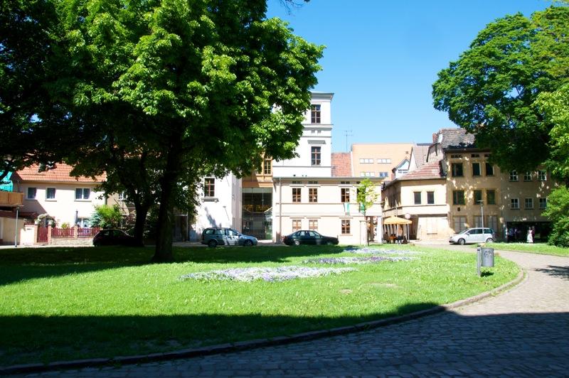 Aschersleben - Auf dem Stephanikirchhof