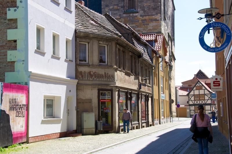 Aschersleben - Hinter dem Turm