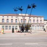 Aschersleben - Es könnte auch Tiflis sein, passt aber zum Wetter und zur Architektur