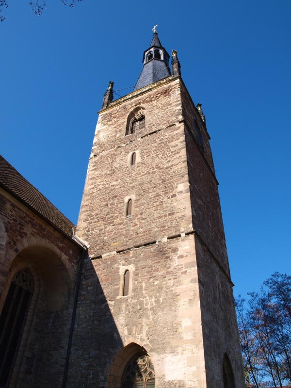 Bild: Eisleben - Die Kirche St. Annen.