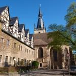 Bild: Eisleben - St. Annen und das Augustiner Eremiten Kloster.