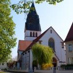 Bild: Eisleben - Die Kirche St. Gertrud.