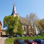 Bild: Eisleben - Die Kirche St. Nikolai.