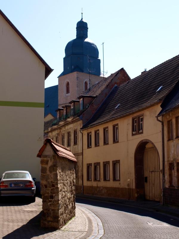 Bild: Eisleben - Die Kirche St. Petri und Pauli.
