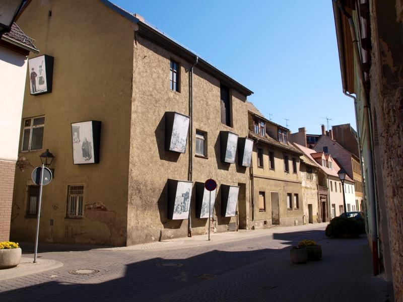 Bild: Eisleben - In der Altstadt.