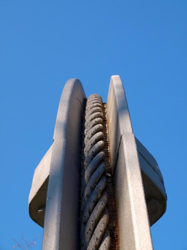 Eisleben - Das Denkmal SEILSCHEIBE.